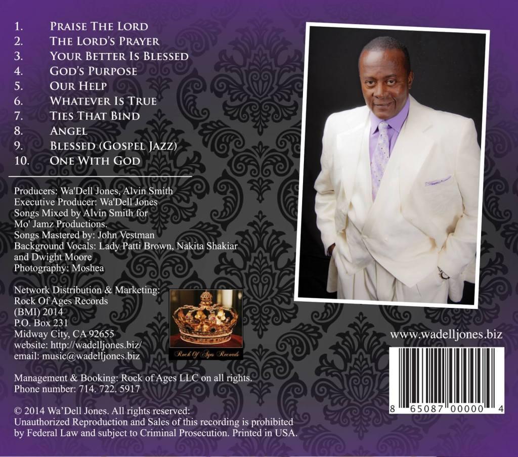 THE GOSPEL TRUTH CD. PRODUCED IN, 2014.