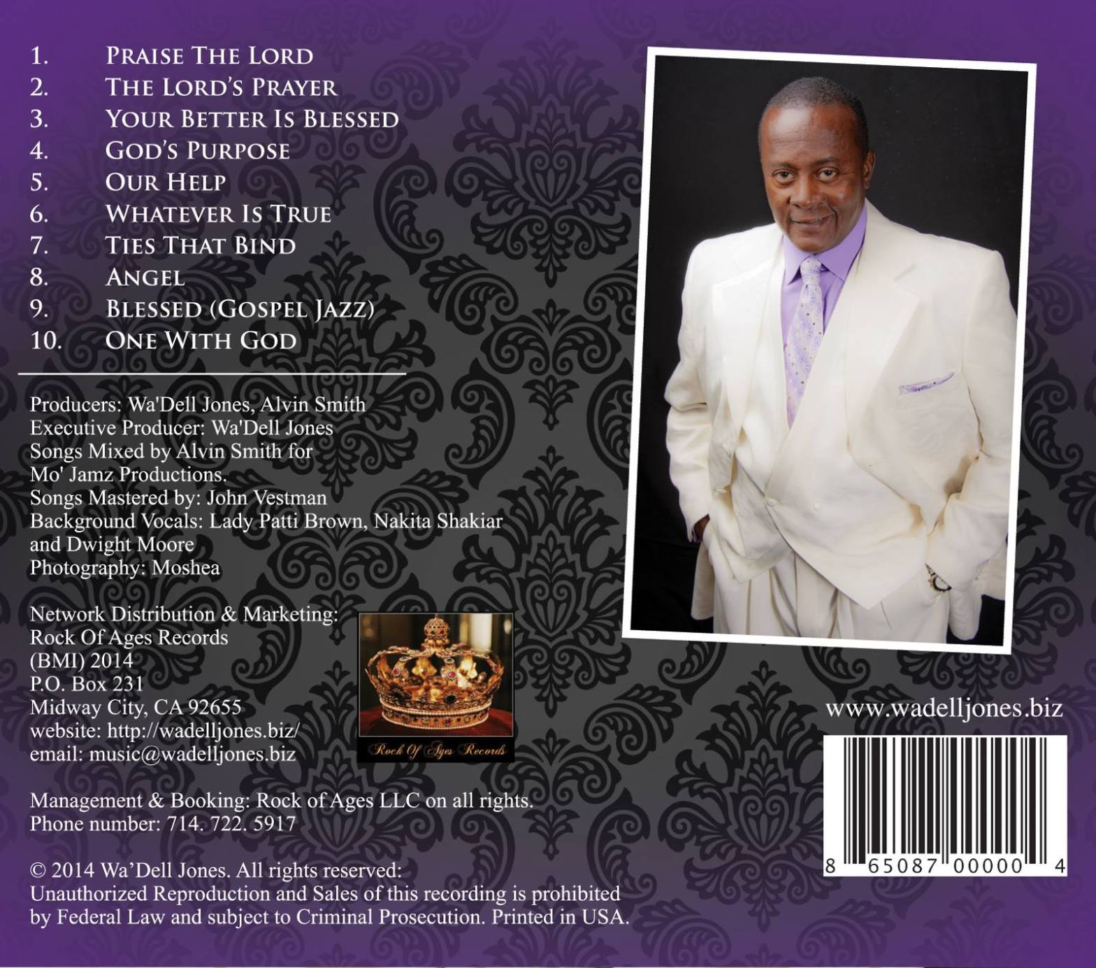 My first musical CD. The Gospel Truth.