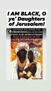King Solomon of Jerusalem Queen.